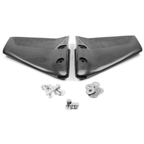 wellenshop Hydrofoil Trimmklappen Stabilisator 4-50 PS / 50-300 PS Außenborder-Motor 185 x 180 mm / 270 x 240 mm Edelstahlbefestigung Boot