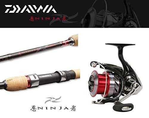 Daiwa Ninja Ultralightcombo 2,10m / 3-15g + Ninja 1500A Spinncombo