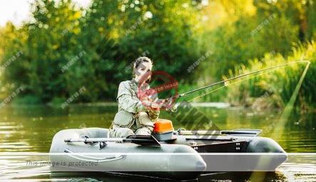 Das Angelboot für große Gewässer